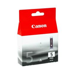 Canon PGI5BK PGI-5BK Pigmented Black Ink Cartridge - GENUINE