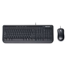 Microsoft Wired Desktop 600 Keyboard & Mouse Combo Pack