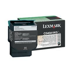 Lexmark C540A1KG Return Program Black Toner Cartridge (1K) - GENUINE