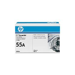 HP CE255A No.55A Black Toner Cartridge (6K) - GENUINE