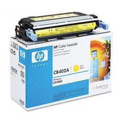HP CB402A Yellow Toner Cartridge (7.5K - GENUINE Computer Components