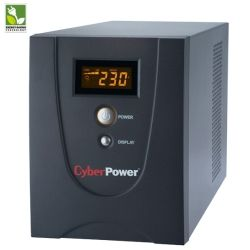 CyberPower VALUE2200ELCD-GP Value GP LCD 2200VA/1320W Line Interactive UPS - 2yr Advanced Replacement