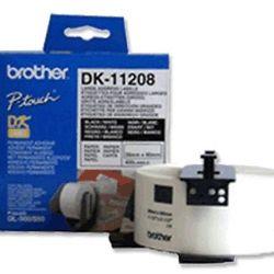 Brother DK-11208 White Standard Large Address Label 38mm x 90mm 400 labels per roll