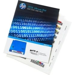 HP Q2012A LTO5- BAR CODE LABEL PACK(QTY:100 10 CLEAN) UNIQUELY SEQUENCED - WORM VERSION