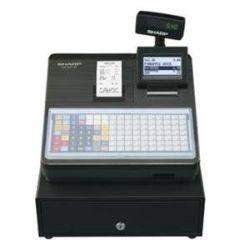 Sharp XEA217B Flat Keyboard Cash Register - Black