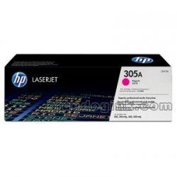HP CE413A 305A Magenta Laser Toner Cartridge (2.6K) - GENUINE