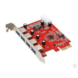 Welland Turbo Leopard UP-314C 4-Ports USB3.0 PCI-E 2.0 Card