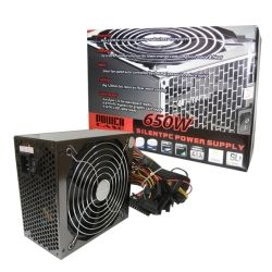 PowerCase PSUPOW650W12OEM 650W PFC 120mm Fan Power Supply