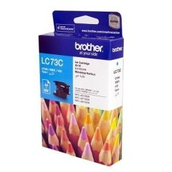 Brother LC73C Cyan High Yield Ink Cartridge (0.6K) - GENUINE