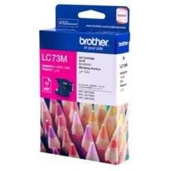 Brother LC73M Magenta High Yield Ink Cartridge (0.6K) - GENUINE