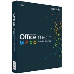Microsoft Office Mac Home and Business 2011 DVD for 1 Mac