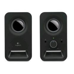 Logitech Z150 Multimedia Speakers- Midnight Black