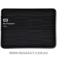 WD WDBPGC5000ABK-PESN My Passport Ultra 500GB Portable Hard Drive - Black