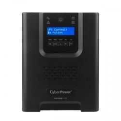 CyberPower PR1500ELCD Pro Series 1500VA Tower UPS with LCD 3yr ADV Replacement Warranty