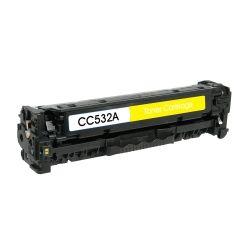 Compatible HP CC532A 304A Yellow Toner Cartridge (2.8K)