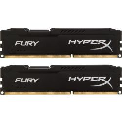 Kingston 8GB 1866MHz DDR3 Non-ECC CL10 DIMM (Kit of 2) HyperX Fury Black Series RAM