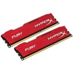 Kingston 8GB 1866MHz DDR3 Non-ECC CL10 DIMM (Kit of 2) HyperX Fury Red Series RAM