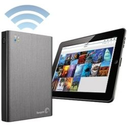 Seagate Backup Wireless Plus 2TB USB 3.0 Portable Hard Drive