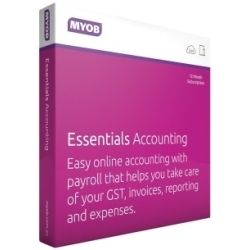 MYOB Essentials Accounting with Payroll for Retail AU
