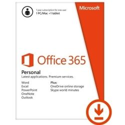 Microsoft Office 365 Personal 32/64bit 1yr Subscription Electronic Software Download (ESD)