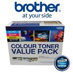 Brother TN-251BK & TN-255 Colour Toner Value Pack