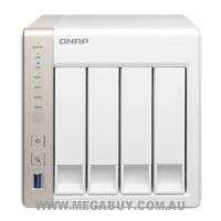 QNAP TS-451-4G 4bay Hotswap NAS, Intel Celeron 2.41GHz Dual Core, 4GB RAM, USB 3.0 Computer Components