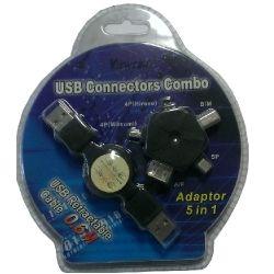 Viewcomm CBUVE060 VIEWCOM 5 in 1 USB Connectors Combo