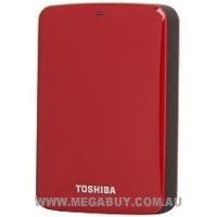 Toshiba Canvio Connect 2TB USB 3.0 Portable Hard Drive - Red