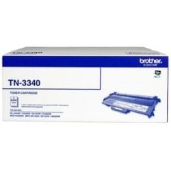 Brother TN3340 High Yield Black Toner Cartridge (8K) - GENUINE