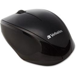 Verbatim Wireless Optical Multi-Trac Blue LED Mouse - Black