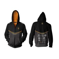 Fnatic Black 4XL Player Zipped