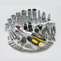 6 in 1 Exchangeable Magical Wrench 101pcs Set