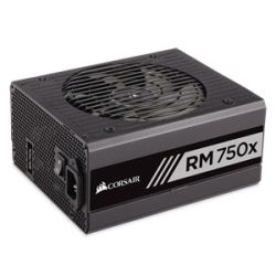 Corsair RM750x Power Supply, Fully Modular 80 Plus Gold 750 Watt, AU Version-100% All Japanese 105?C capacitors- new!
