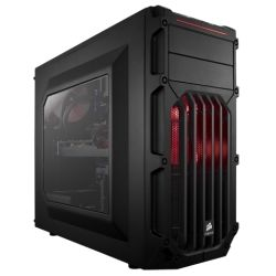 Corsair Carbide Series SPEC-03 Mid Tower Case, Red LED