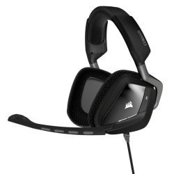 Corsair VOID-USB-CARBON, VOID USB Dolby 7.1 Gaming Headset, Wired, Frequency Response: 100Hz to 10kHz, 2yr Wty