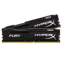 Kingston HyperX Fury Black Series 8GB 2400MHz DDR4 Non-ECC CL15 DIMM (Kit of 2)