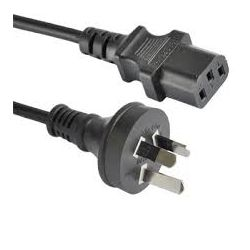 Astrotek 375368-D00000 IEC AU Power cable Male-Wall (240v) PC to power socket 1.8m
