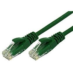 Comsol 50cm RJ45 Cat 6 Patch Cable - Green