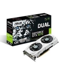 Asus NVIDIA GeForce Dual GTX 1070 Video Graphics Card