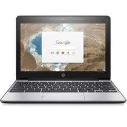 HP ChromeBook 11 G5 11 inch HD Touch Notebook Laptop - Celeron N3060, 2GB RAM, 16GB SSD, WL-AC 1yr Wty Computer Components