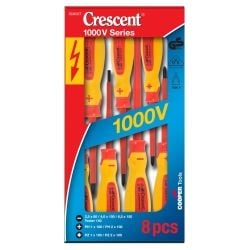 Crescent Tools Crescent Insulated Electrical Screwdriver Set 8PCE