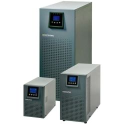 Socomec ITYS 2kVA Tower LCD UPS Online Double Conversion 2000VA/1600W Tower Only with USB + RS232 comm's Port and Cable opt SNMP Card