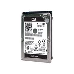 WD Black Internal 2.5 inch Mobile SATA Drive, 1TB, 6GB/S, 7200rpm, 5yr Wty