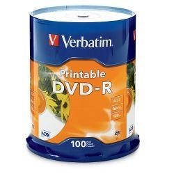 Verbatim 95153 White InkJet (100Pk)