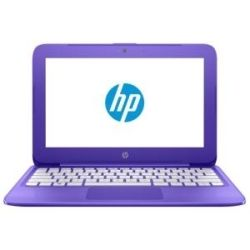 HP Stream Y010TU 11.6 inch Notebook Laptop Celeron N3060 2GB RAM 32GB Win10 B/T 4.2 Violet Purple