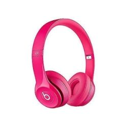 Beats Audio Solo2 On-Ear Headphones - Gloss Pink