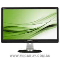 Philips 241P3LYEB 24 inch Widescreen FHD 1920x1080, 5ms, Height Adjustment, Tilt, Swivel, LED Monitor, 6 Mth Wty (Refurbished)