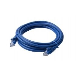 8Ware Cat6a UTP Ethernet Cable, Snagless - 3m - Blue