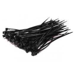 Cable Ties - Nylon 203mm(L) x 4.8mm (W) Black | Bag of 100