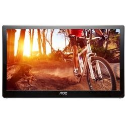 AOC E1659FWU 15.6 inch Portable LED Monitor 1366x768 USB3